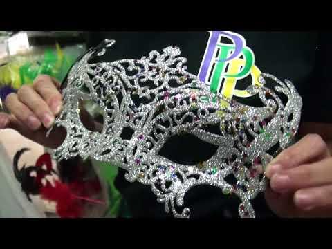 Glitter Venetian Mask