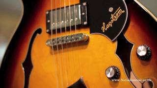 Hagstrom Viking Electric Guitar Demo - Tobacco Sunburst - Nevada Music UK