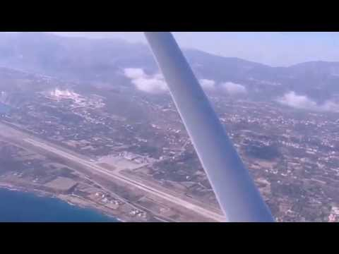 Takeoff  from Kefalonia airport