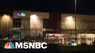 Police Identify Suspect In Deadly Shooting At Indianapolis Fedex Facility | Ayman Mohyeldin | MSNBC