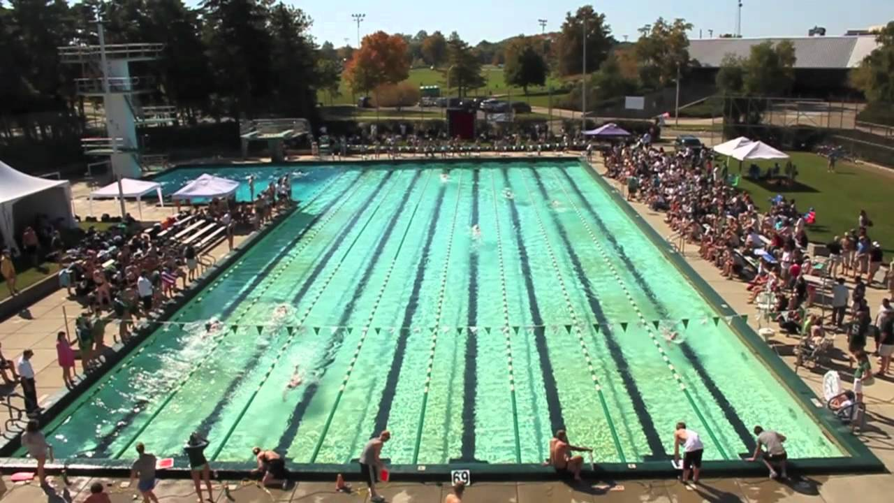 Michigan state swimming diving outdoor meet 2011 youtube - University of michigan swimming pool ...