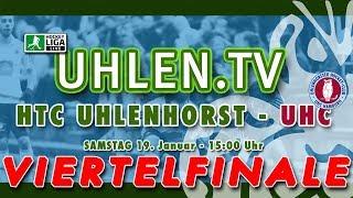 Hallenhockey Bundesliga VIERTELFINALE HTCU - UHC