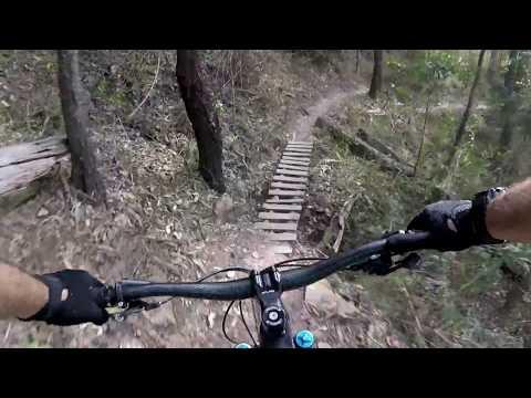 Nerang MTB, Timber bridge compilation