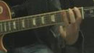 Guitar Lesson - judas priest - breaking the law on guitar