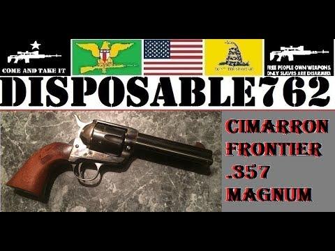 Cimarron Frontier  357 Magnum Uberti Single Action Army Peacemaker