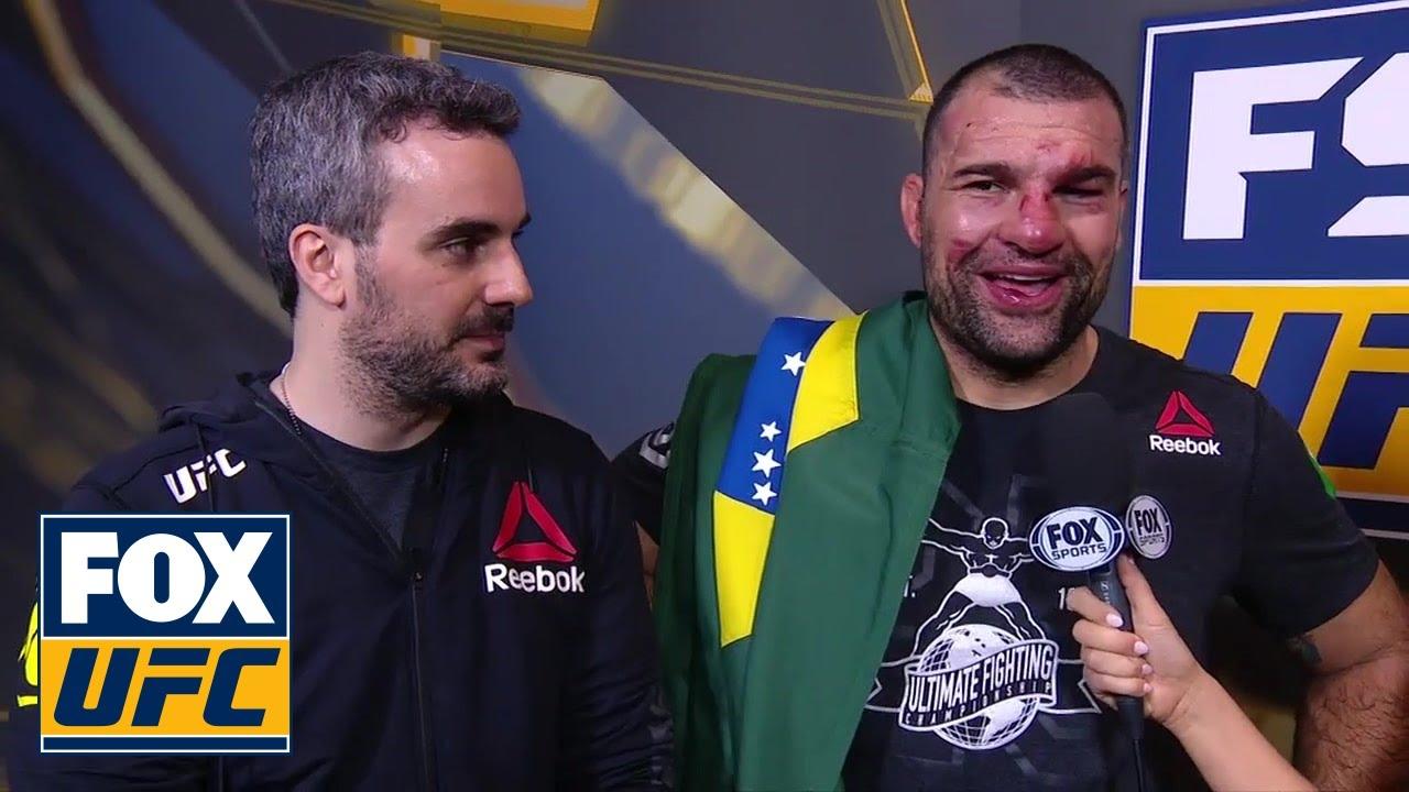 Shogun Rua speaks after comeback victory | INTERVIEW | UFC FIGHT NIGHT