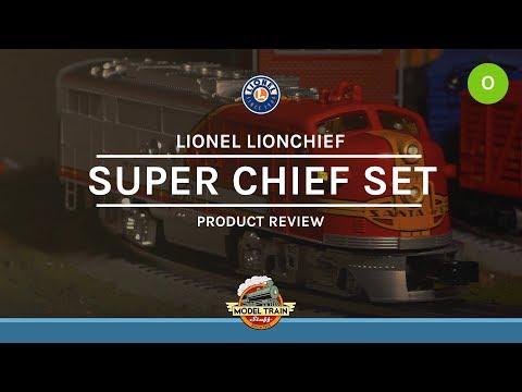 O Gauge Lionel Santa Fe Super Chief Set