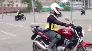 Motosiklet eğitimi 1.ders görüntüleri (5.bölüm)