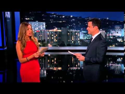 WATCH - Sofia Vergara SLAPS Jimmy Kimmel on US TV