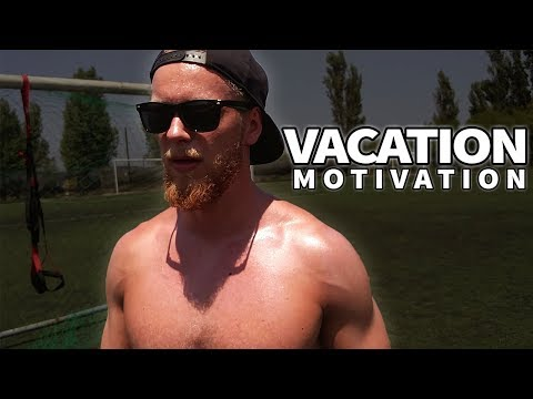 Motivation - Outdoor Fitness Workout on Vacation