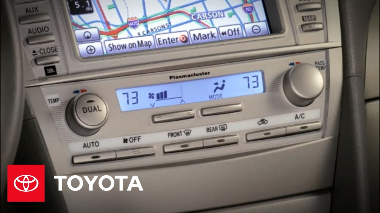2010 camry hybrid how to automatic climate control toyota [ 1280 x 720 Pixel ]