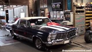 '67 Galaxie 500 dyno run