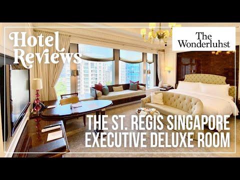 The St Regis Singapore - Executive Deluxe Room Tour [Hotel Reviews]
