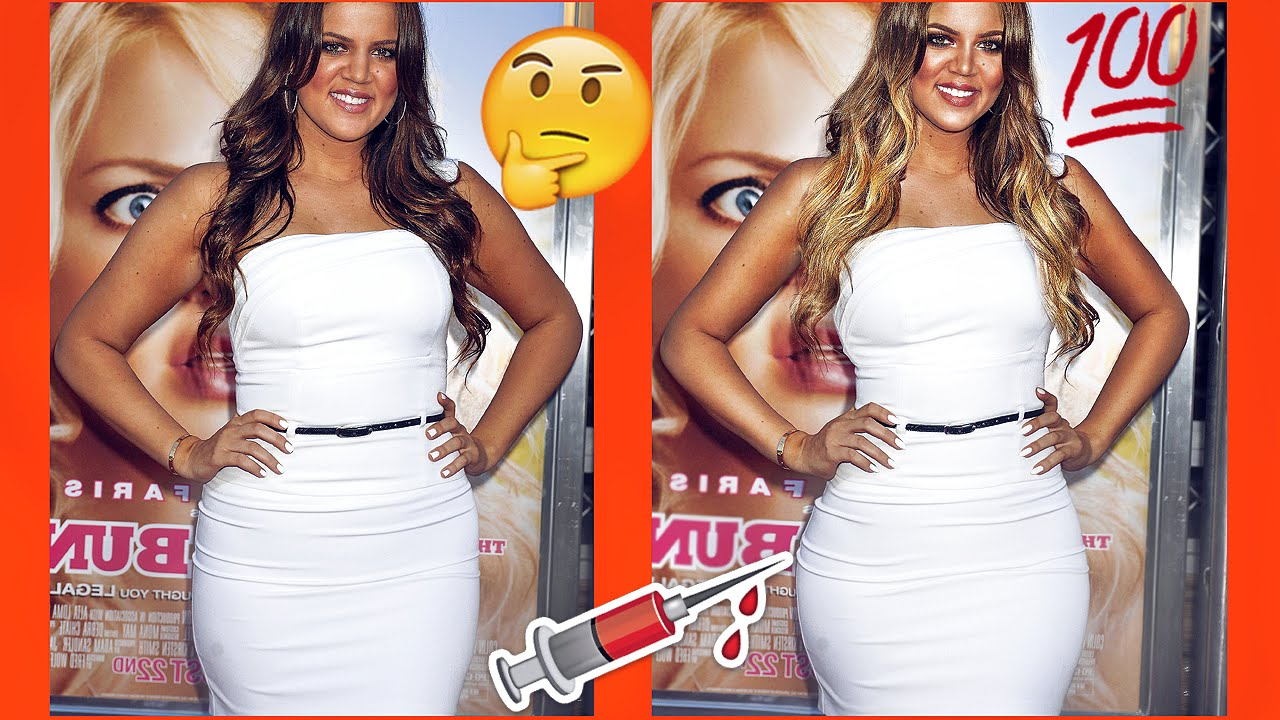 khloe kardashian transformation then now youtube