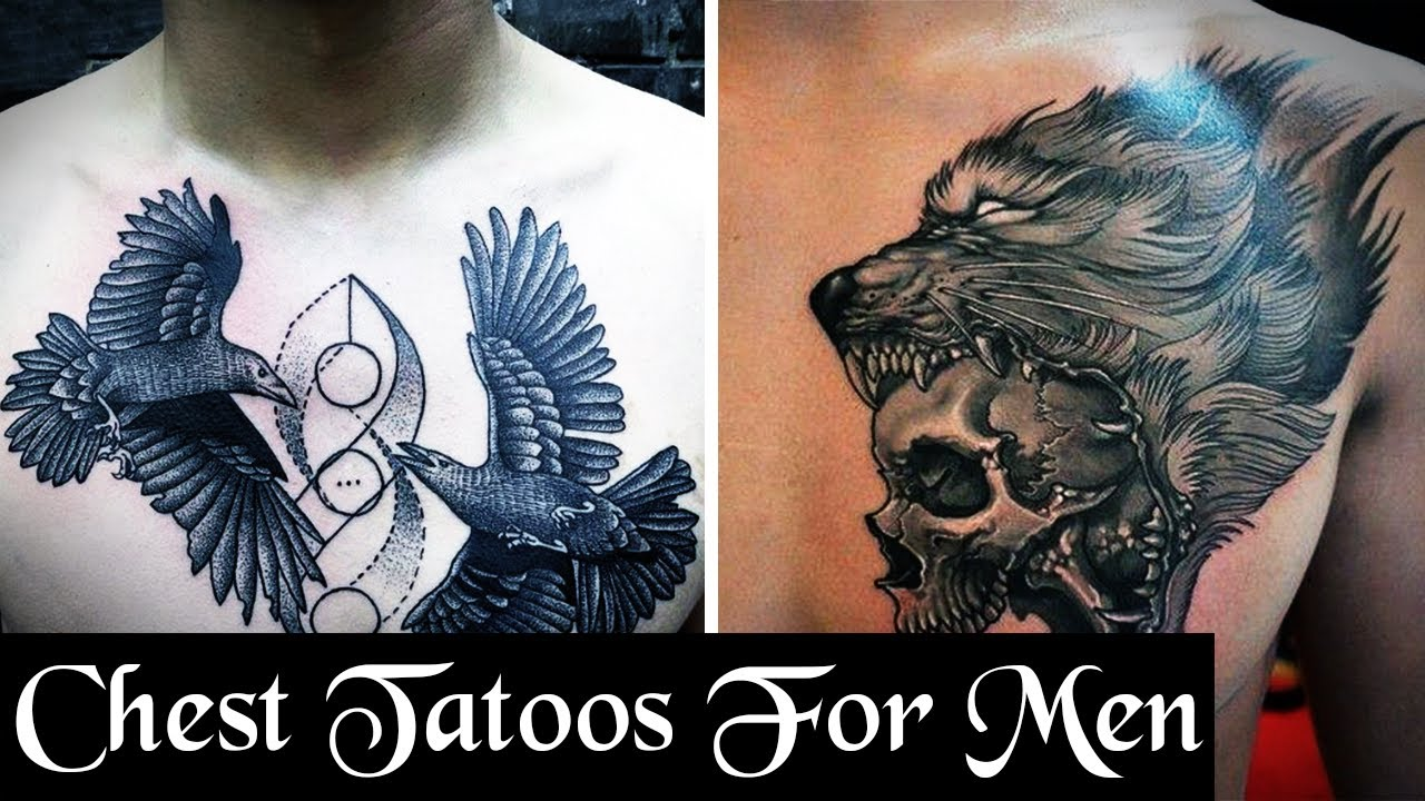 25 Cool Chest Tattoos For Men