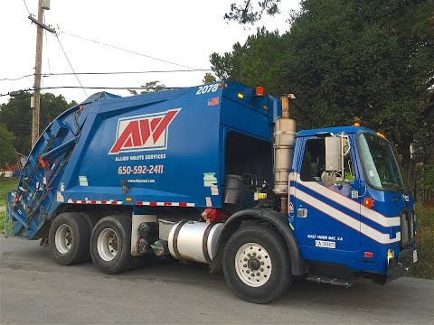 Tour My Village With an Allied Waste Rear Loader