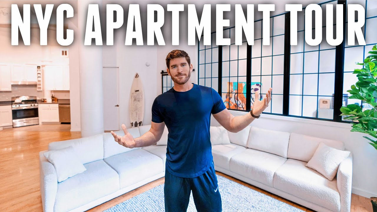 Inside Erik Conover's Industrial SoHo Loft | Furnished NYC Apartment Tour