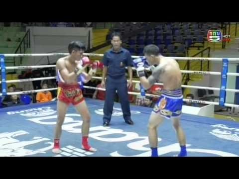 Professional Muay Thai Boxing from Lumphinee Stadium on 2014-11-08 at 11 pm