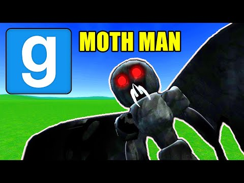 Garry's Mod Next Bot - MOTH MAN INFESTATION IN A CITY!!! | Comedy Gaming