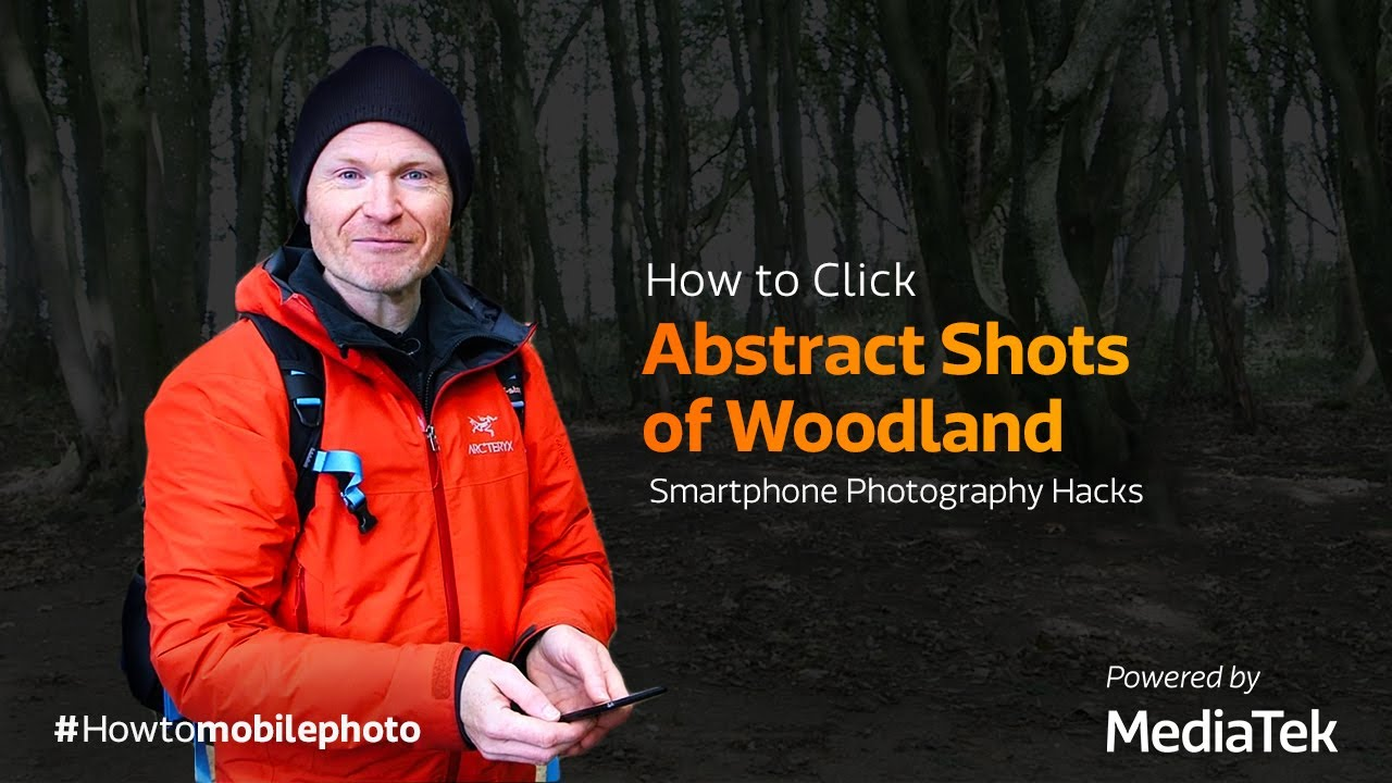 How to Click Abstract Shots of Woodland | Smartphone Photography Tricks