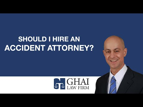 Should I hire an accident attorney?