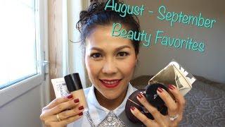 August - September Beauty Favorites. ของโปรดเดือน สค. กย.