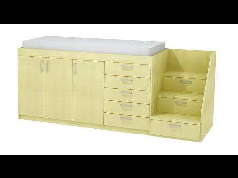Como hacer una cama en altura, (resumen). - YouTube