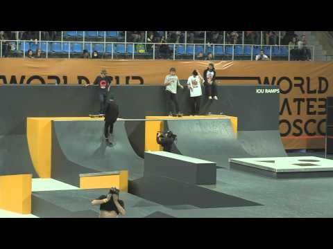 WORLD CUP SKATEBOARDING MOSCOW 2013 wcsk8 finals