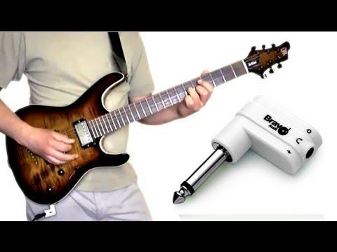 bravo audio headplug guitar headphone amplifier demo soundcheck youtube. Black Bedroom Furniture Sets. Home Design Ideas
