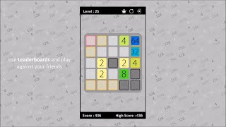 2048 Brainteasers game - Excel, iPhone, Android