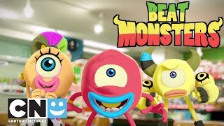 Pirate Roulette | Beat Monsters | Cartoon Network