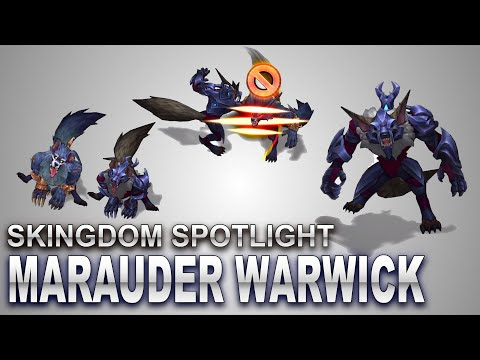 Marauder Warwick Skin Spotlight | SKingdom - League of Legends | Compare
