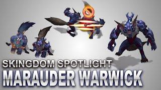 Marauder Warwick Skin Spotlight   SKingdom - League of Legends   Compare