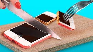 8 جرابات موبايل تنفع للأكل (تقدروا تعملوها بنفسكم) / مقالب تنفع للأكل