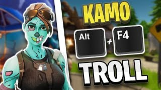 KAMOLRF is trolled with ALT + F4! | Mexify tricks enemies! | Fortnite Highlights English