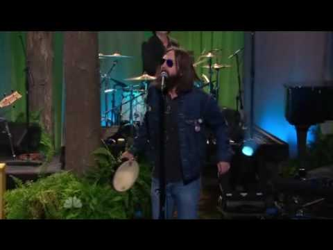 The Black Crowes perform My Morning Song Tonight Show 8.3.2010