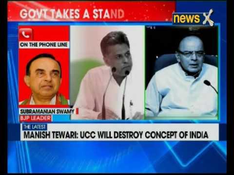 Manish Tewari: UCC will destroy concept of India
