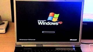 Старт ноутбука Emachines M5414…