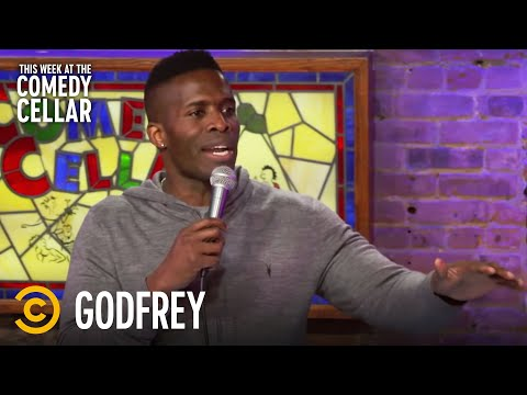 "Godfrey: Black People ""Dominate Sports"" - This Week at the Comedy Cellar"