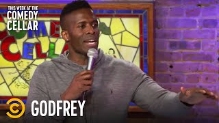 """Godfrey: Black People """"Dominate Sports"""" - This Week at the Comedy Cellar"""