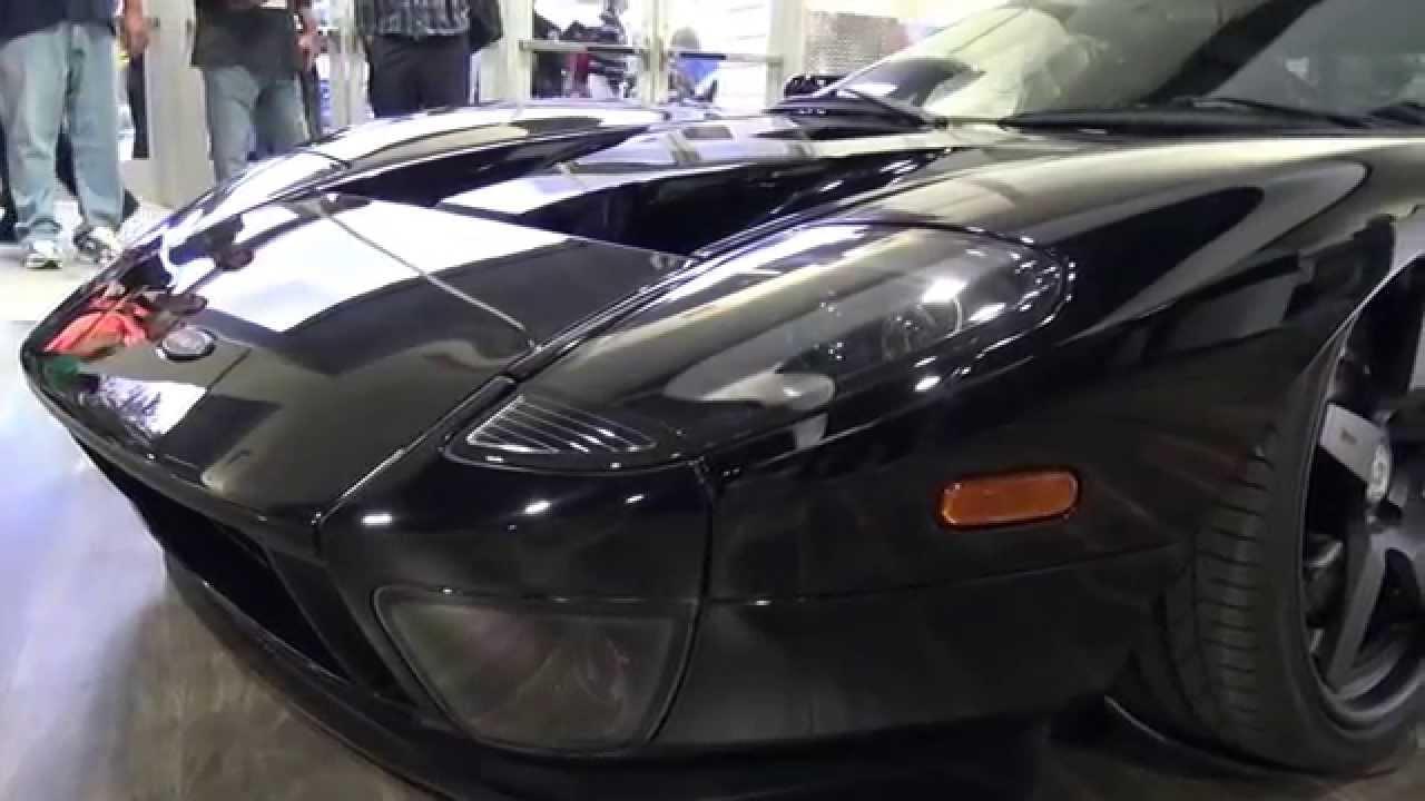 Accuair Ford Gt Gas Monkey Garage W Aaron Kaufman Sema Las Vegas Sema  Youtube