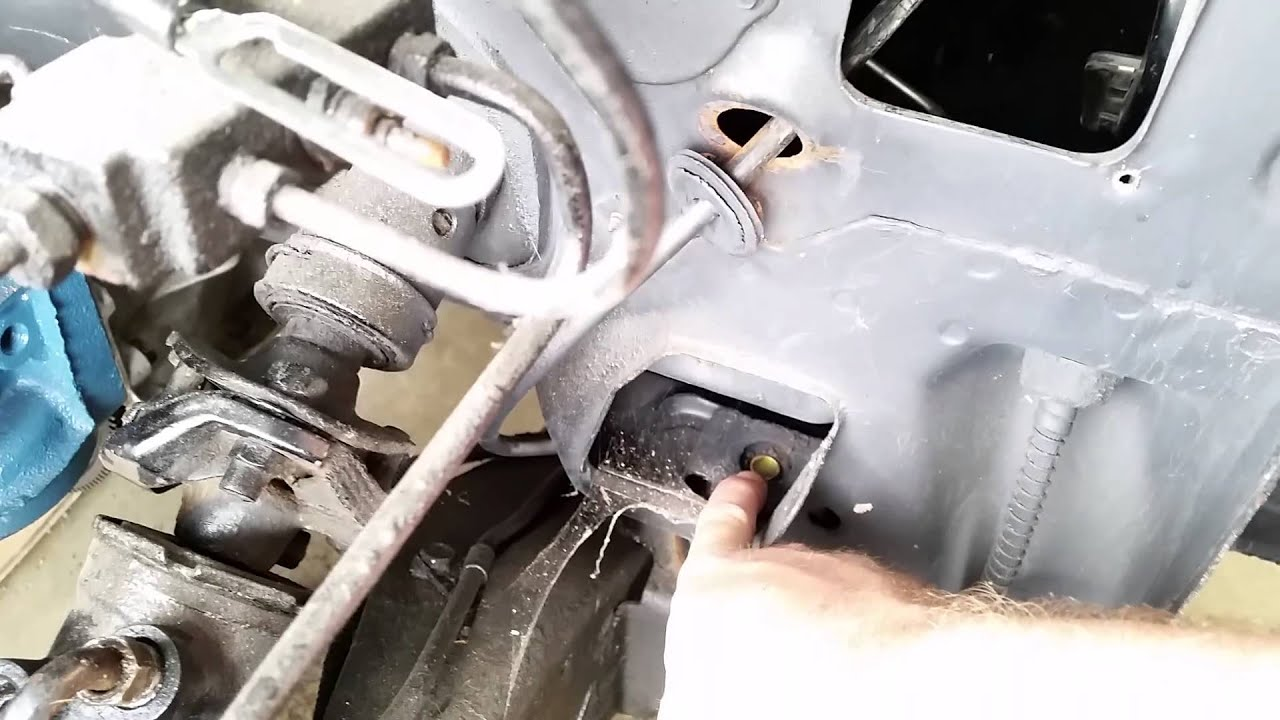 Sub Frame bushings in 1970 Chevy Nova - YouTube