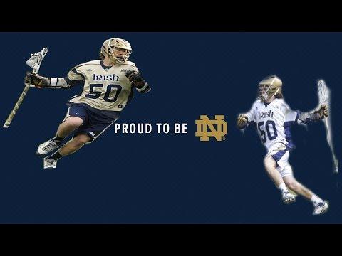 Matt Kavanagh Notre Dame Lacrosse Highlights