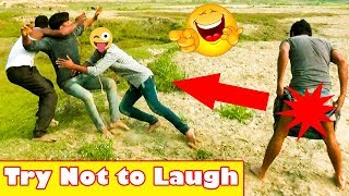 Must Watch new Funny 😀😀 Comedy Video 2019 | Try not to Laugh | Ep - 07 | Pagla Baba Fun