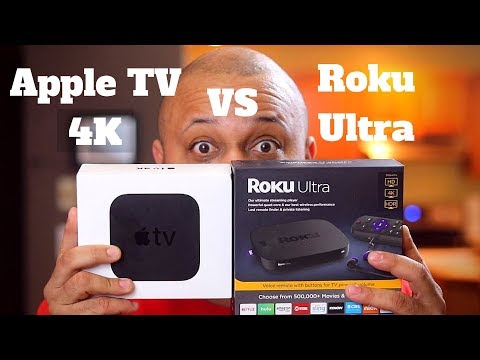 Roku Ultra Vs Apple TV 4k - What's the best streaming device?