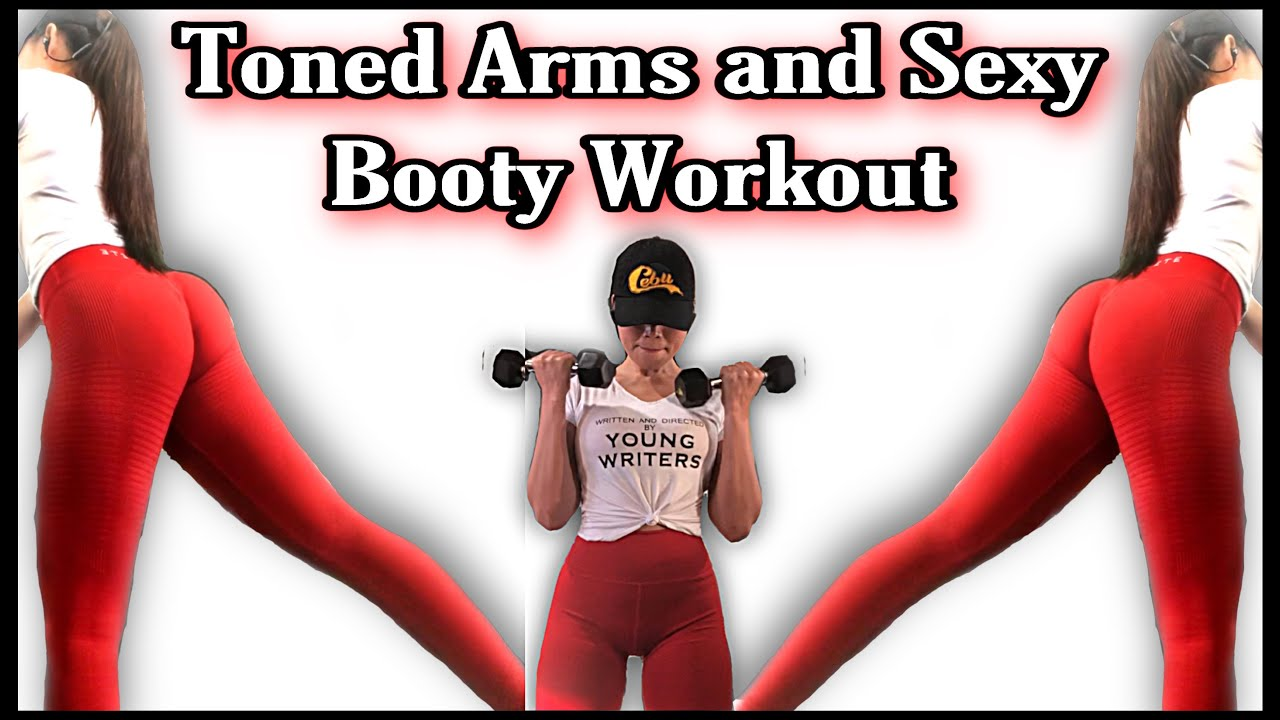 10 Mins Toned Arms and Round Booty Workout
