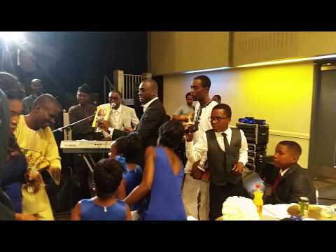 Dr. Dammy Pilgrims - Honey Weds Taiwo Nigerian Wedding, Manchester 2015. Part 1