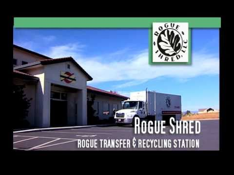Rogue Shred Confidential On-Site Document Shredding