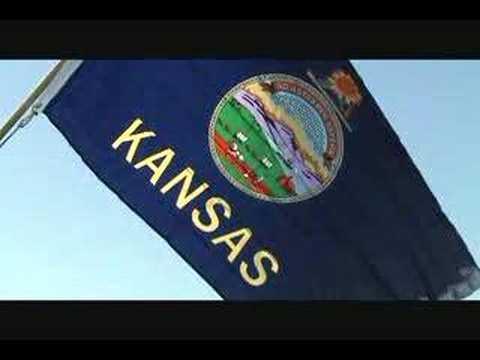 Kansas State Flag and Kansas State Song