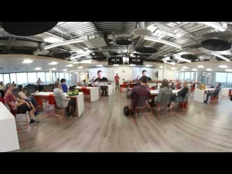 David Whelan ImmersiveVREducation @3D Camp Dublin & Irish VR